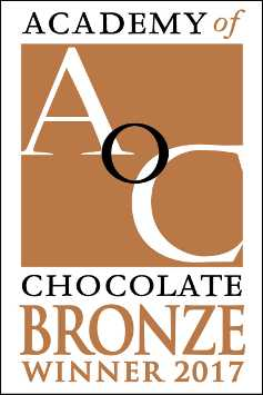 Bronze medal Academy of Chocolate Awards winner 2017