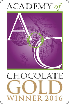 Gold medal Academy of Chocolate Awards winner 2016